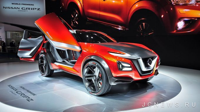 Nissan Juke e-Power покажут в октябре